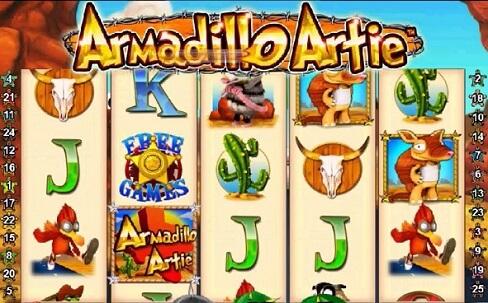 More Details about Armadillo Artie Online Slot